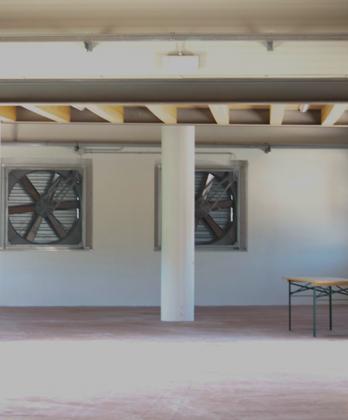 干燥室的风扇