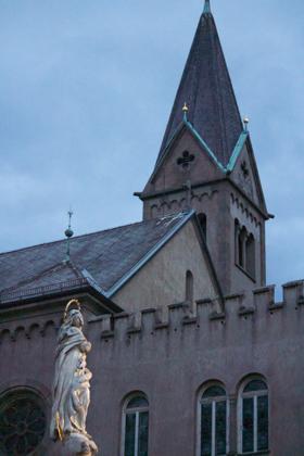 MERANO武器的外衣 MERANO教堂广场