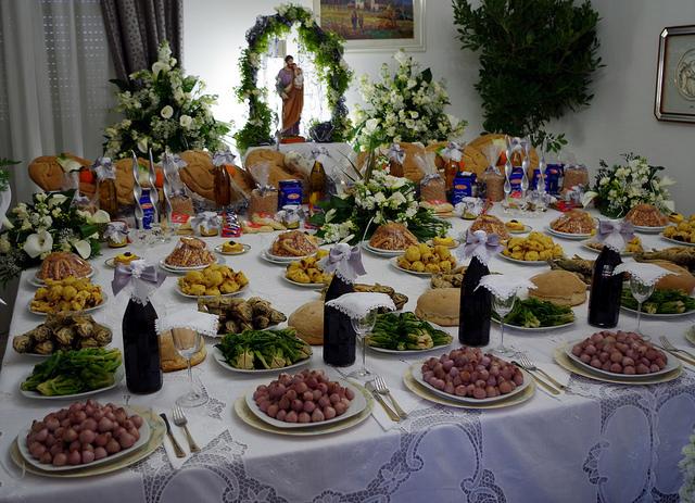 SAN GIUSEPPE盛宴, CLAUDIA SCHULTE拍摄