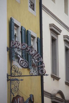 Prosciutteria (意大利风干火腿的餐厅) 在 San Daniele di Friuli