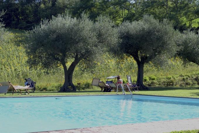 GIULIA别墅泳池边
