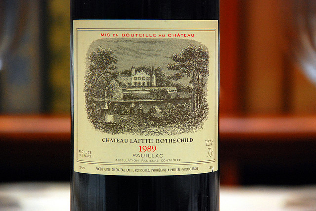 CHATEAU LAFITE ROTHSCHILD, 1989,NORMAN27拍摄