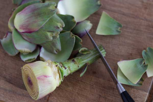 how to prepare artichokes-5