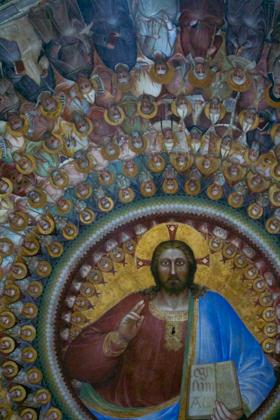 PADOVA 的BATTISTERO内部的壁画