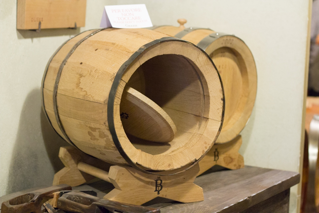 只有光滑的木头才能用来制作木桶