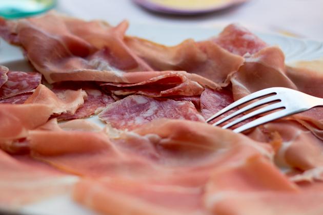 Prosciutto di Parma(帕尔玛火腿)和萨拉米