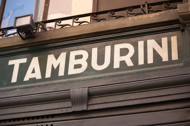 TAMBURINI –美食圣地
