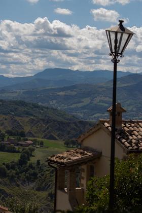 MARECCHIA山谷的景色
