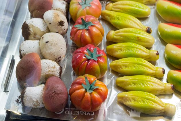 FRUTTA MARTORANA(水果形状的杏仁蛋白软糖)