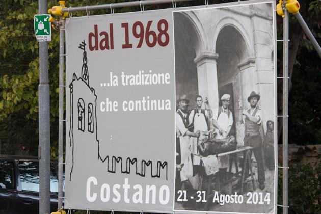 COSTANO 的PORCHETTA节