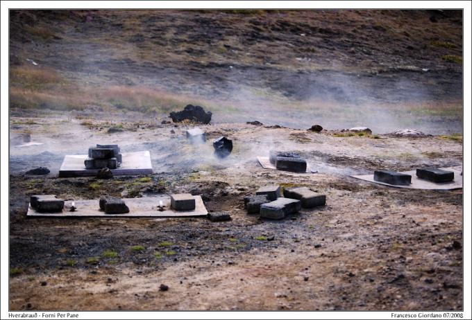 冰岛间歇泉面包烹制中,Francesco拍摄