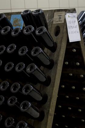 装在瓶中二次发酵的起泡酒
