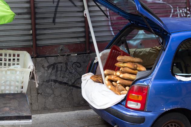 有进取心的周日面包小贩