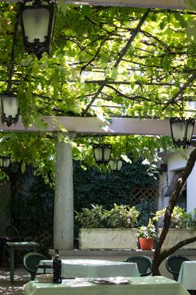 IL PIEMONTESE里的院子
