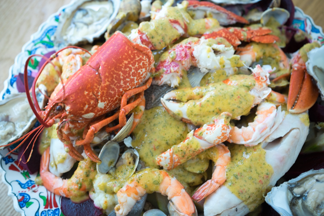 Cappon magro (海鲜和蔬菜拼盘)
