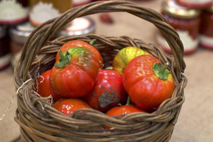 产自巴西利卡塔的番茄