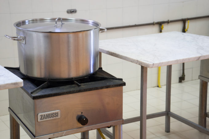 在MARCHESI DI SAN GIULIANO制作果酱
