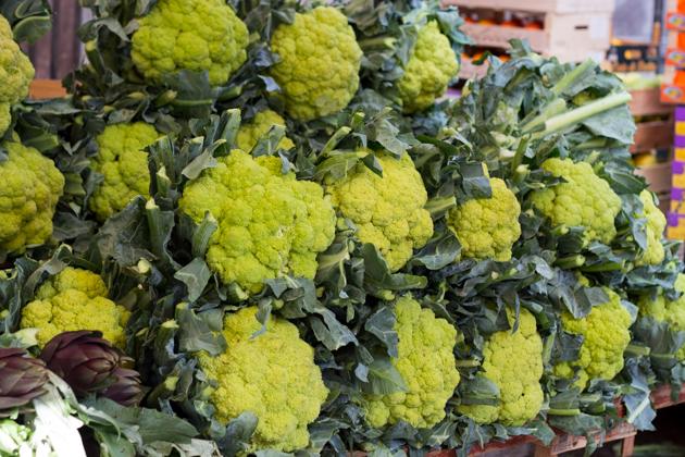 花椰菜也可以是绿色的