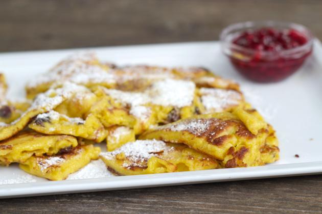 皇帝煎饼:一种甜味的蓬松煎饼,起源于奥地利