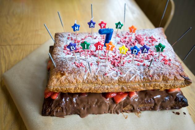 我儿子的生日蛋糕
